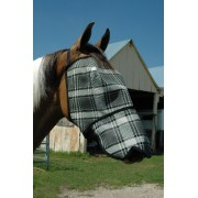 Fly Mask Economy With Nose Protector