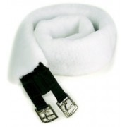 Girth Cover Synthetic Fleece 75cm White