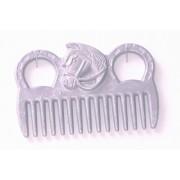 Mane Comb Aluminium Horse Head Design