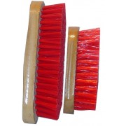 Dandy Brush Soft PVC Bristles Wooden Back