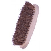 Dandy Brush With Stiff Natural Fibres And A Wooden Back