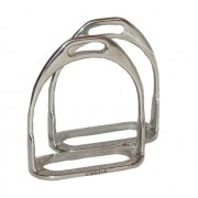 Stirrup Irons 2Bar Stainless Steel 4""