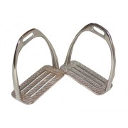 Stirrup Irons 4Bar Stock Stainless Steel