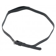 Zilco Extended Throat Bridle-Throat Lash Strap